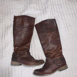 Women's Frye Riding Boots Size 6 Thumbnail