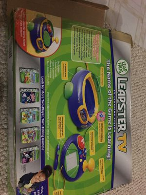 Leapster tv kids game console for Sale in Bellevue, WA