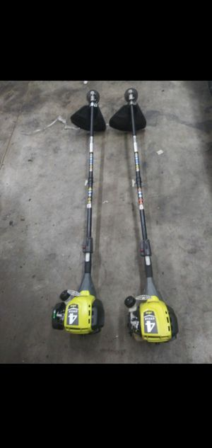 Photo RYOBI 4 CICLE GAS STRING TRIMMER