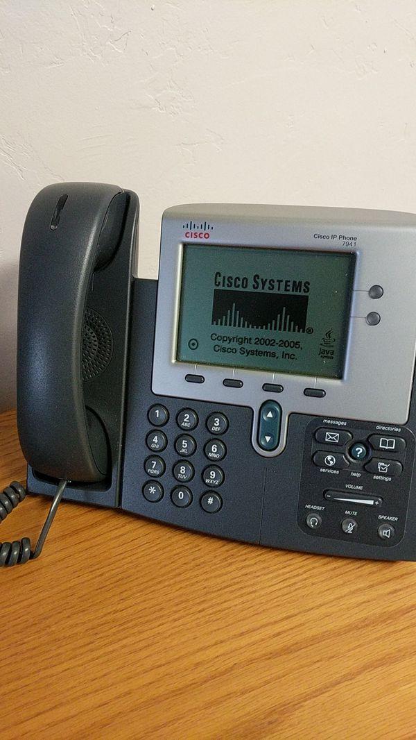 Cisco IP phone 7941 (8 phones) for Sale in Tucson, AZ - OfferUp