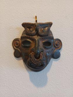 5 Colombian Native Indian Masks Thumbnail
