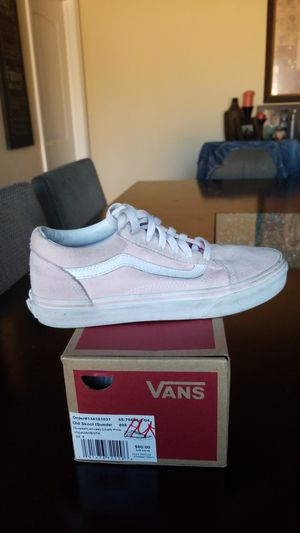 edac72a03b87f1 Van s suede canvas size 5 youth for Sale in Redondo Beach