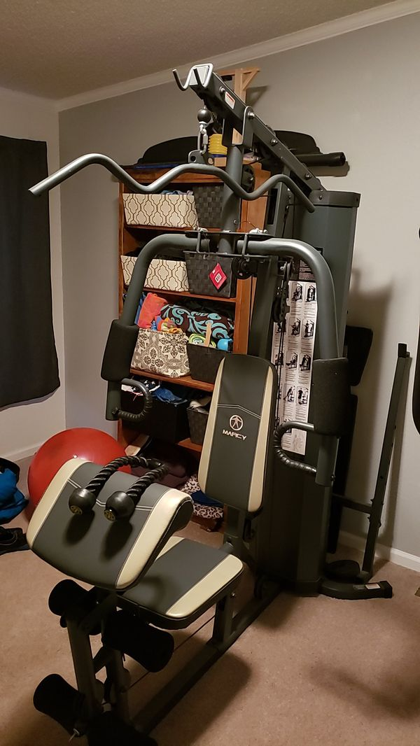 Marcy all in one home gym for sale in niederwald tx offerup