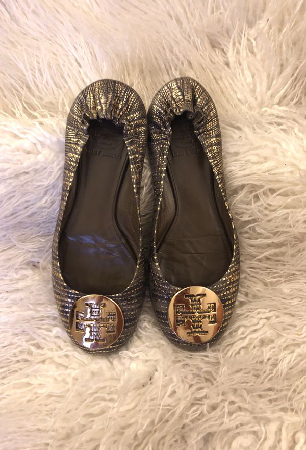 ae8c765394c Tory Burch Reva flat size 6.5 for Sale in St. Louis