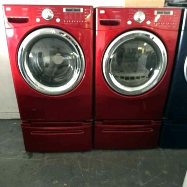 Offerup Las Vegas >> Red Lg front load washer and dryer FREE DELIVERY for Sale ...