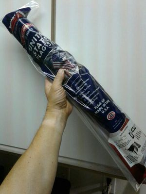 3 X 5 ft United States flag with pole brand new for Sale in Denver, CO