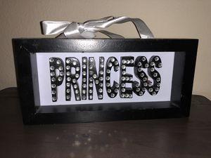 Princess door sign for Sale in Houston, TX