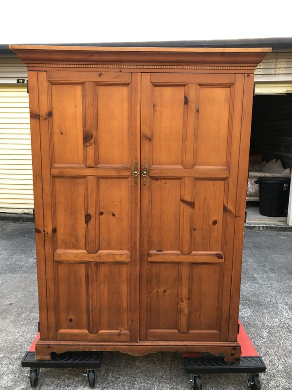 CABINET WITH FOLD OUT DESK for Sale in Macon, GA - OfferUp