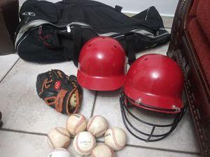 Photo Kids Baseball Equipment.