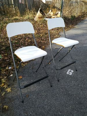 Set of Two Ikea stools bars for Sale in Washington, DC