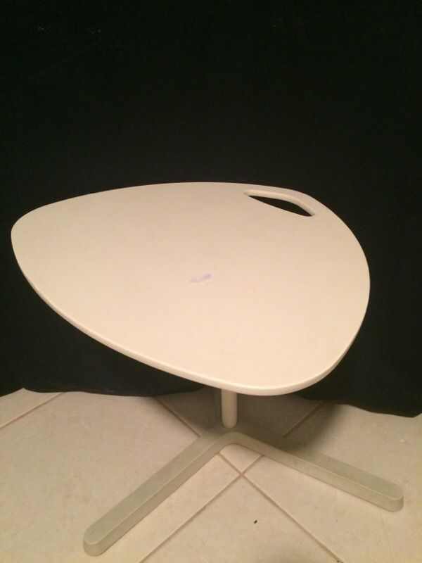 Ikea Dave White Laptop Stand Table