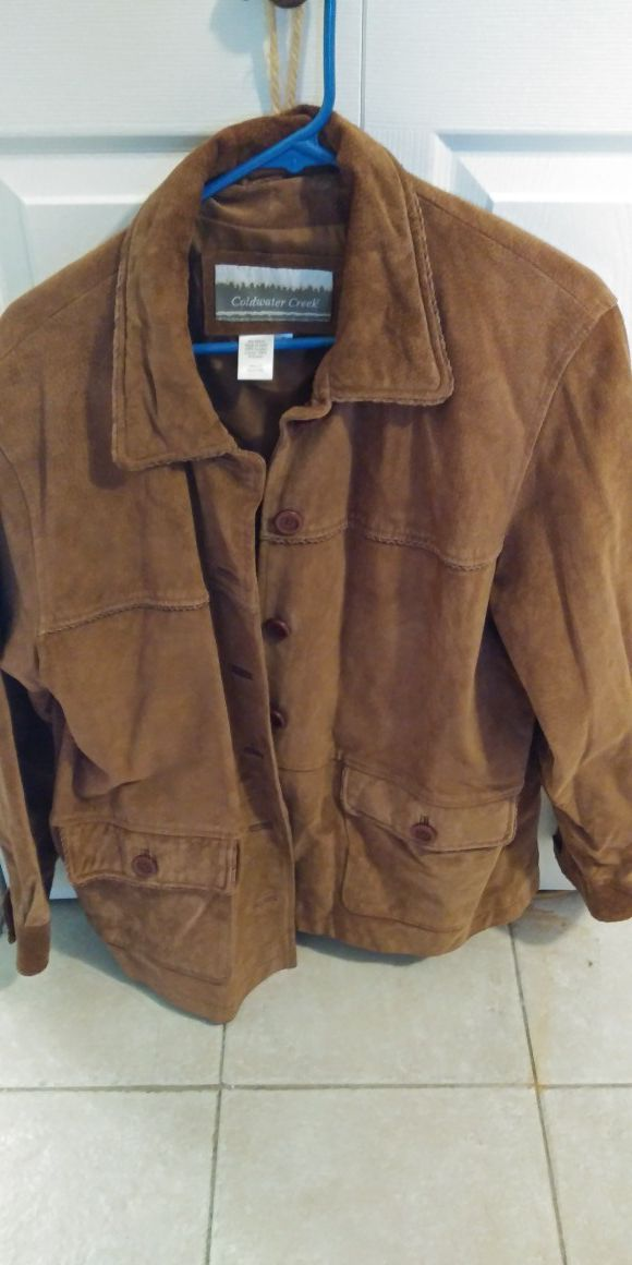 a9319e6eda4 Jacket suede coldwater creek for Sale in Christiana, DE - OfferUp