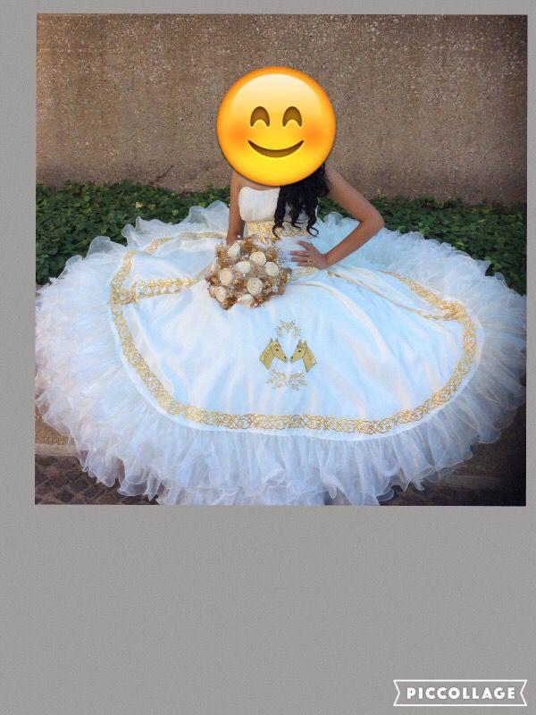 3f6cd33a LA Glitter vestido para quinceañera for Sale in Dallas, TX - OfferUp