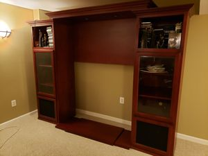 TV Entertainment Center or Wall shelving unit for Sale in Springfield, VA