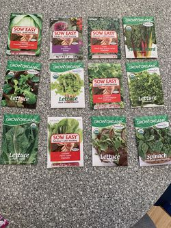 Packets of seeds Flowers, Fruits, Vegetables, Herbs (price is per packet) Thumbnail