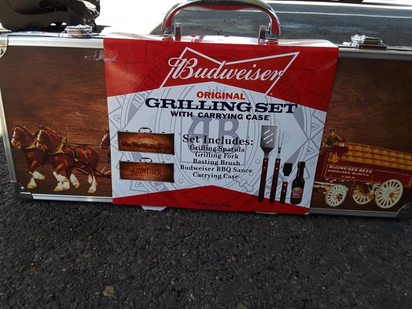 Budweiser Grill Set for Sale in Salem, OR - OfferUp