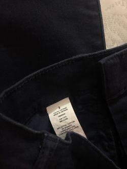 Navy blue pants Thumbnail