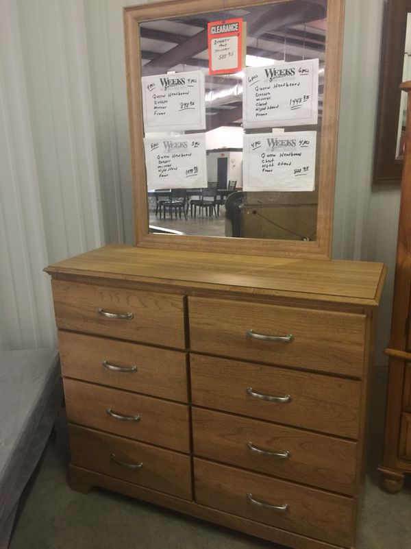 Mirror And Dresser 588 95 Charleston
