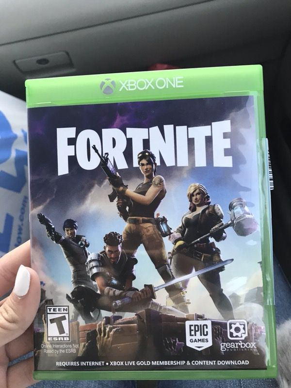 Fortnite Xbox 1 Game For Sale In Riverside Ca Offerup