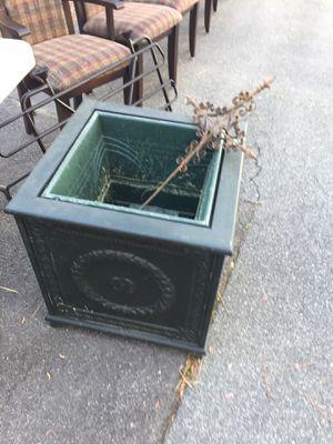 Large Vintage Planter Metal Panels for Sale in Apex, NC
