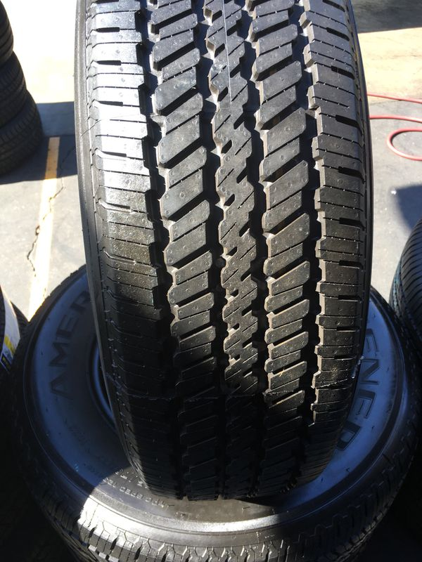 P245 75r17 General Ameritrac Seminew All 4 Tires Have 95 Of Life