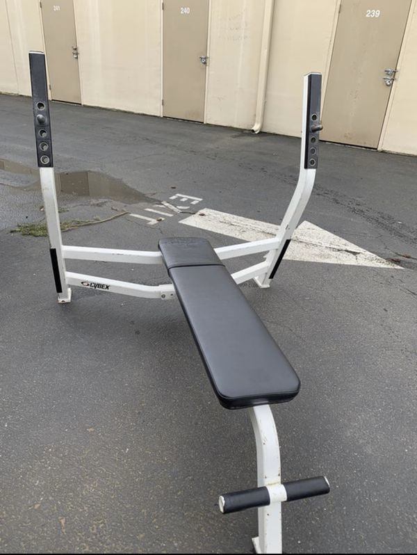 Comercial CYBEX Olympic weight flat bench for Sale in ...