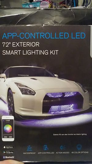 App controlled LED 72 exterior smart lighting kit for Sale in Troy, MO
