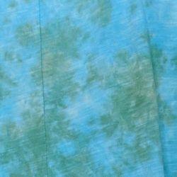 LOGO Lavish by Lori Goldstein Women's Sweater Sz XL Tie Dyed Duster Blue A394116 Thumbnail