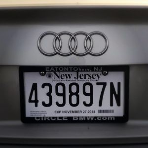 Temporary tag 🚘 for Sale in New York, NY