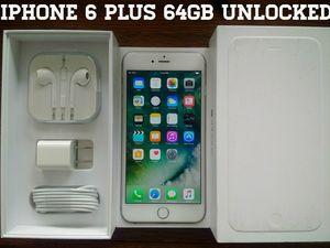 Iphone 6 Plus 64GB UNLOCKED (Like New) for Sale in Arlington, VA