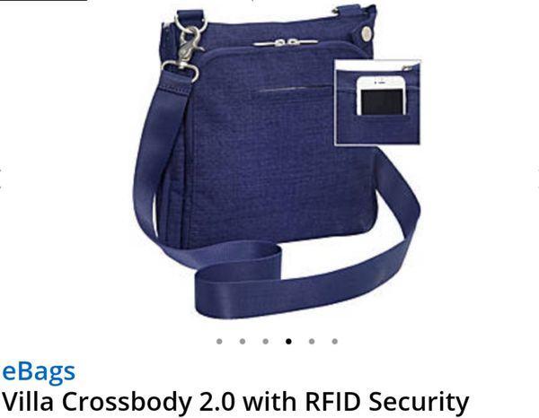 0d7e33175188 Villa Crossbody 2.0 with RFID Security for Sale in Atlantic City