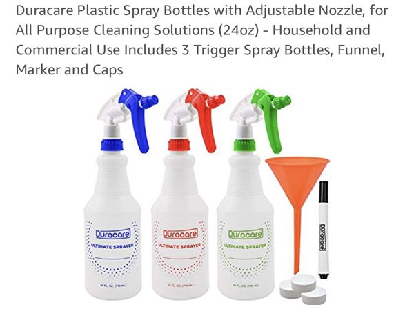 0171d9c45223 Plastic spray bottle set new for Sale in Colorado Springs, CO - OfferUp