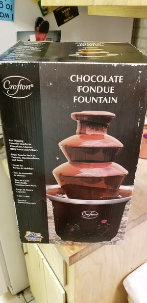 Crofton: Chocolate Fondue Fountain for Sale in Oak Lawn, IL