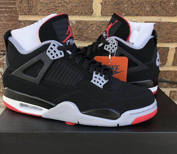 0e4bae6aca5d62 Nike Jordan 4 IV Retro Black Cement Bred size 8.5 for Sale in ...