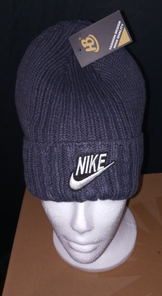 New With tags Nike beanies