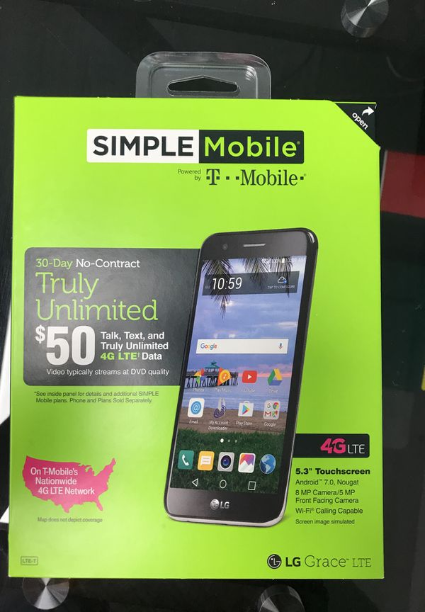 Brand new simple mobile LG grace for Sale in Cincinnati, OH - OfferUp