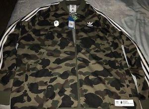 b6d9aef7e Bape x adidias new jacket for Sale in Southwest Ranches, FL