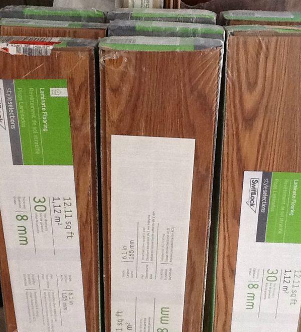 Swiftlock Laminate Flooring 30 Year Warranty 8 Mm Westmont Oak New For In Puyallup Wa Offerup