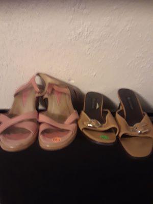 Summer sandlers nine west for Sale in Hyattsville, MD