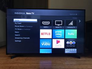 "50"" Insignia Smart TV Roku for Sale in Houston, TX"