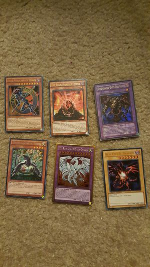 200+ Yu-Gi-Oh yugioh cards with more than 100 holographics (wtt for pokemon) for Sale in Fairfax, VA