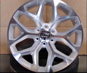Photo GMC Chevrolet Replica Wheels Rims Black Machine - Gloss Black - Machine Silver Brand New In Box 24 Inch ...$ 1099 (Wheels Only) 26 Inch ...$1199