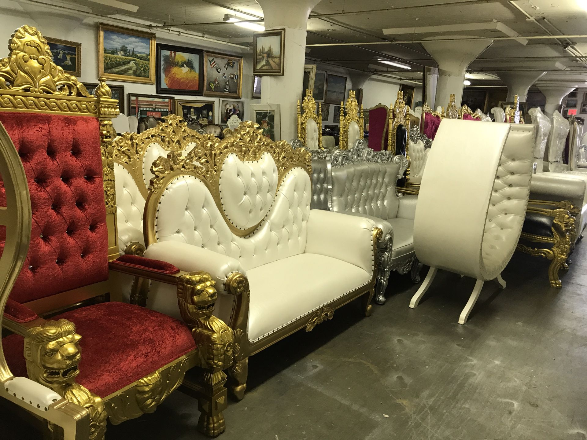 Beautiful throne chair.$1800. Best offer