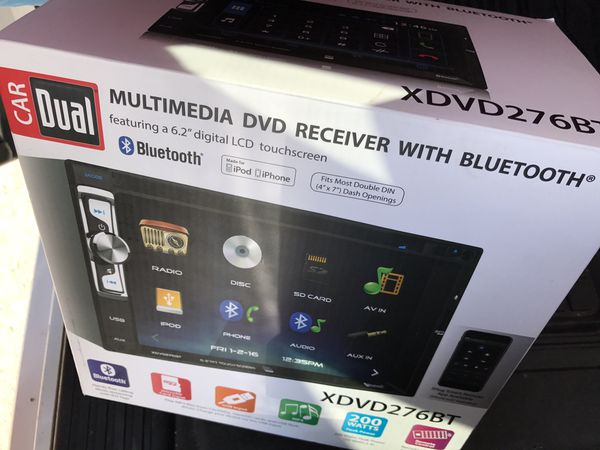 Xdvd276bt dual double din for Sale in Mesa, AZ - OfferUp