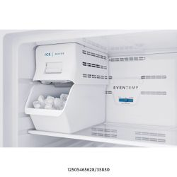 Frigidaire 8.25 in. Top Mount Refrigerator 5 lbs. Built-In Plastic Ice Maker Installation Kit in White  - Slightly used Thumbnail