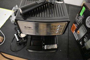 Mr. Coffee Espresso and Cappuccino Maker   Caf? Barista , Silver Thumbnail