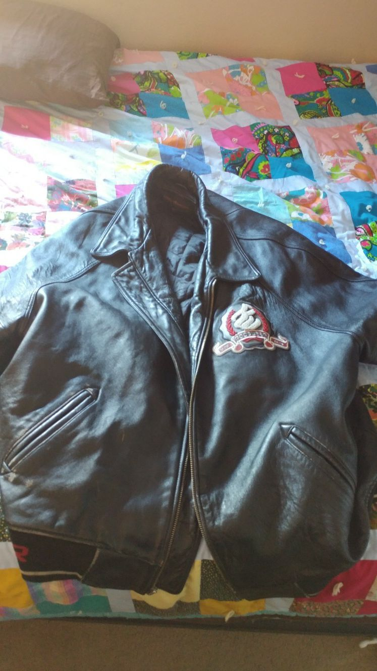 Vintage Rocawear leather jacket