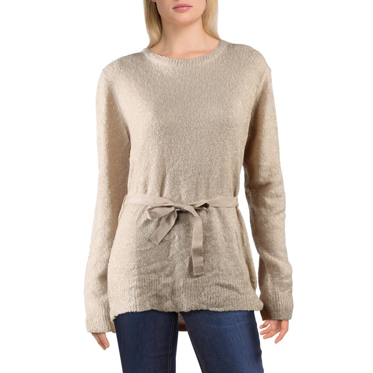 Current  Air Womens Pullover Sweater Beige Size Medium