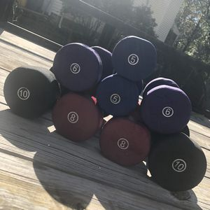 Hand Weights, Home Fitness, Weight Lifting for Sale in Hanover, MD