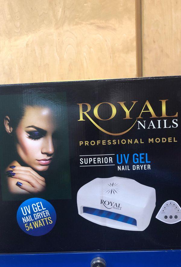 54 Watt Royal Nails Professional Uv Light - Best Nail ImageBrain.Co